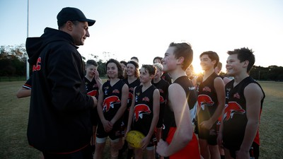 Victorian kids eligible for financial support to get back into footy