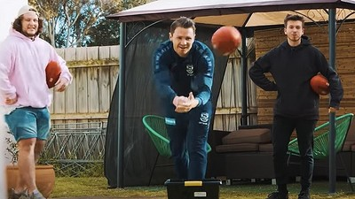 Resources for kids at home who love their footy