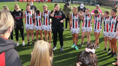 Saints' Robinson wants to see more female coaches