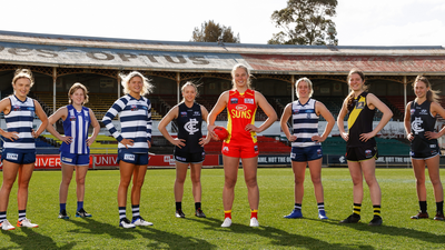 Victorian footballers take next step in AFLW journey